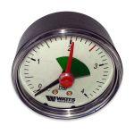 Manometras horizontalus Watts 0-4 bar. dm 50
