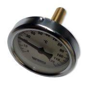 Termometras horizontalus Watts 0-120 °C dm 80