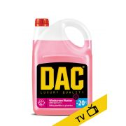 Stiklų ploviklis DAC-20C su glicerinu