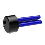 Įstatomas elektrinis flanšinis šildymo tenas TPK 210-12, 5-9kW